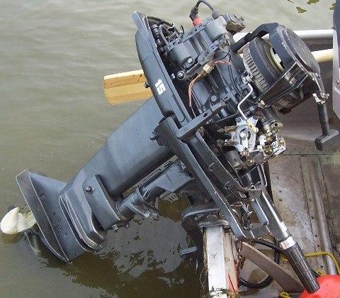 неполадки с лодочным мотором